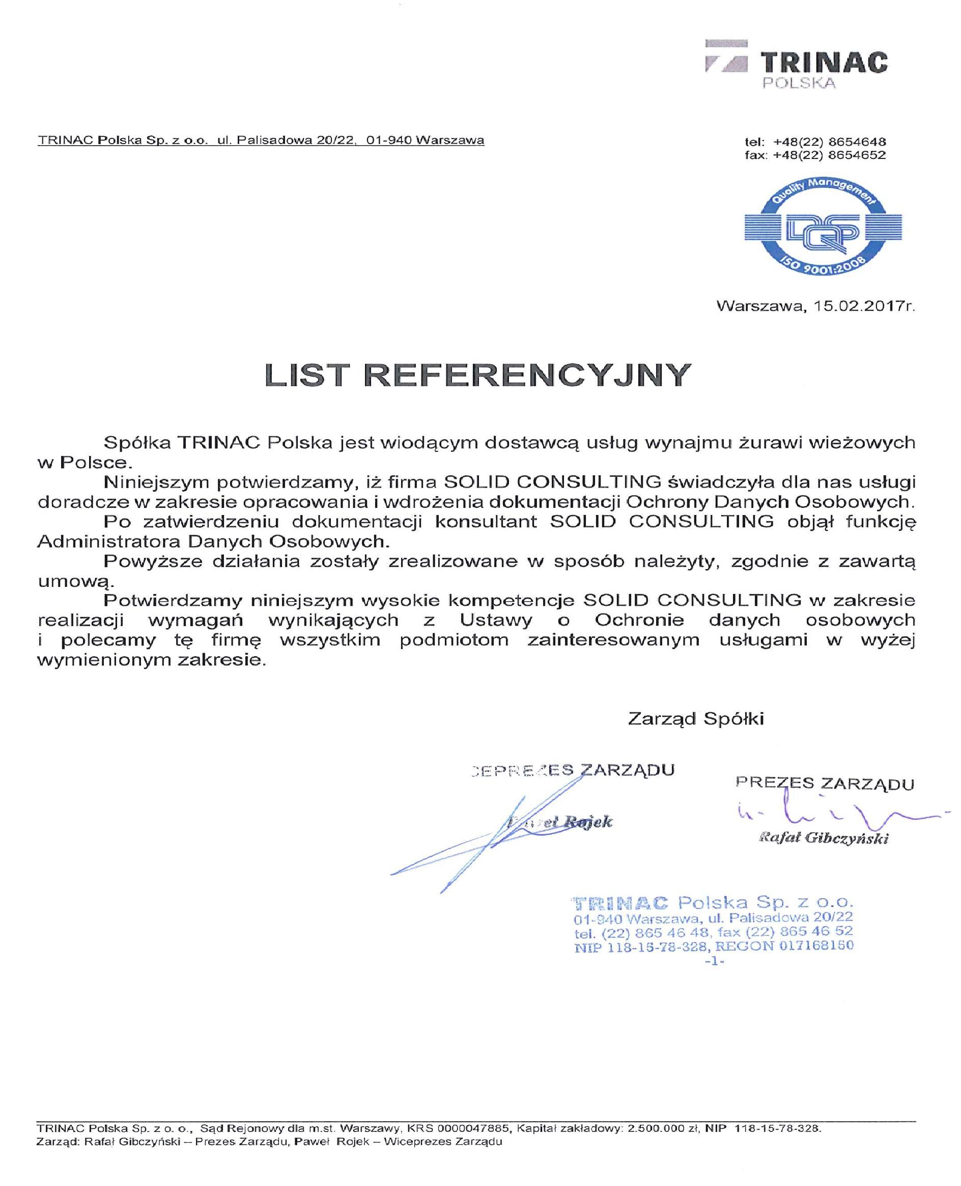 STREIF Baulogistik Polska